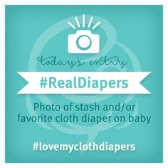 """We're kicking off #RealDiaperWeek with our #LoveMyClothDiapers Photo Contest! Join the fun for a chance to win a bumGenius 4.0 Baseball Diaper!   - Keep an eye on our Facebook & Instagram for the """"Theme of the Day"""" - Post a """"themed"""" photo of your little one in bumGenius, Flip Diapers or Econobum  - Include #lovemyclothdiapers & Hashtag of the Day!   Check out our blog for more contest details!"""