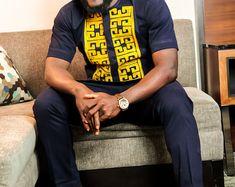 Porter africains des hommes, motifs Africanisants Print, africains, vêtements africains, mode africaine