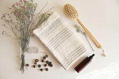 Handtücher - Badetuch, saunatuch, leinentuch, sehr edel! - ein Designerstück von Leinen-Natur bei DaWanda