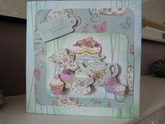 Birthday Tea Birthday card £1.75