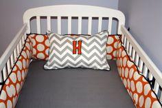 Custom Crib Bedding  2 piece Set  navy by DandelionBabyblanket, $238.00