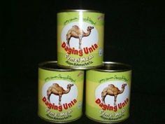 "Canned Camel Meat: ""Perfect lunch for Hump Day!"" XD (click for 25 more disturbing canned foods. We've seen some of them before on this board, but I think the winner of the batch is the canned haggis.)"