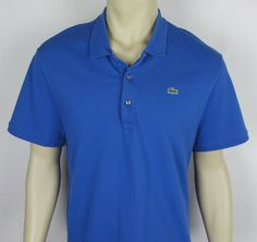 Mens Lacoste Polo shirt short sleeve Golf Pique fabric  Size 3XL ( 9 )