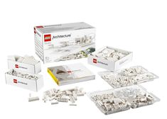 #Lego targets #architects with monochrome building set