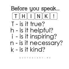 Could be a nice mnemonic for our kiddos!