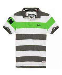 ac263880c1dbf6 Superdry Hoopstripe Hit Polo - Men s Polo Shirts Polo T Shirts