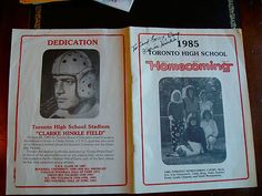 EXTREMELY RARE,,,HISTORIC SIGNED PROGRAM BY A PACKER GREAT