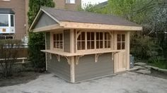 Bar Unit, Shed, Outdoor Structures, Patio, Lean To Shed, Terrace, Backyard Sheds, Porch, Coops