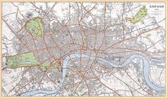 london street maps - Google Search