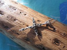 Hey, I found this really awesome Etsy listing at https://www.etsy.com/listing/172995757/marcasite-and-sterling-silver-cross