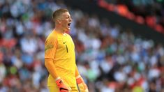 Jordan Pickford is England's World Cup number one James Rodriguez, First Choice, Goalkeeper, Number One, World Cup, Jordans, Polo Ralph Lauren, England Football, Angels