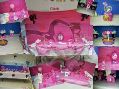 A&D CREAZIONI HANDMADE: Barbie silhouette party. i particolari https://www.facebook.com/aedcreazioni  http://dodaricci.blogspot.it/