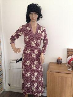 LADIES DEEP PINK CHIFFON Kimono Sleepwear  Dress Gown WRAP  10 12 14 16 18 BNWT