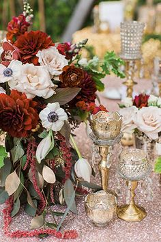An incredible rose gold metallic wedding styled shoot featuring a stunning Truvelle gown   Erica Velasco Photographers: http://www.ericavelasco.com