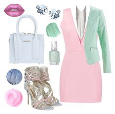 """""""Soft Heart"""" by miss-shan-nicole ❤ liked on Polyvore featuring Sophia Webster, Dsquared2, Lydell NYC, Lime Crime, Chanel, Essie and Obsessive Compulsive Cosmetics"""