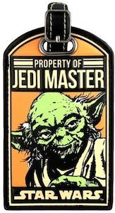 Star Wars Yoda Jedi Master Luggage Tag