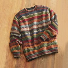 Bolivian Alpaca Sweater | National Geographic Store