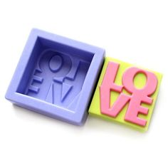Silicone Mold - Love