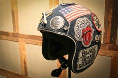 21 Helmets - One Motorcycle Show - Denim Helmet