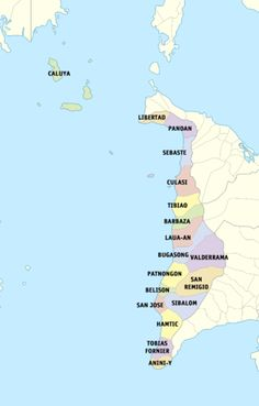 San Jos de Buenavista map San Jose de Buenavista Antique