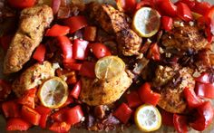 Diet friendly Peruvian roasted chicken recipe.
