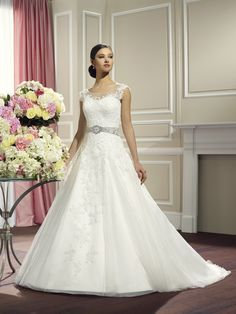 Moonlight Collection Bridal Gown Style - J6323