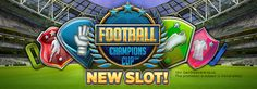 If you are a football fanatic, then the video #slot game Football: Champions Cup is a must play for you. Play now at Vegas Paradise #Casino! Sign up to avail £5 now!!