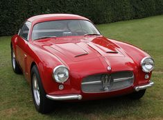 1955 Maserati 2000 GT Zagato Coupe by exfordy Old Sports Cars, Classic Sports Cars, Sport Cars, Classic Cars, Maserati, Classic Car Restoration, Unique Cars, Expensive Cars, Motor Car