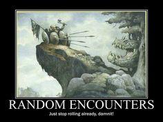 D&D Fun - Random Encounters