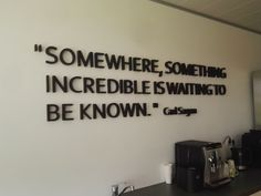 Colorfoam quote op de wand The Incredibles, Home Decor, Decoration Home, Room Decor, Home Interior Design, Home Decoration, Interior Design