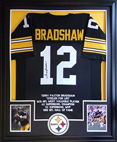 Terry Bradshaw Framed Stat Jersey Signed JSA COA Autographed Pittsburgh Steelers Mister Mancave http://www.amazon.com/dp/B014XJN3MK/ref=cm_sw_r_pi_dp_P1trwb18Z2Q2M