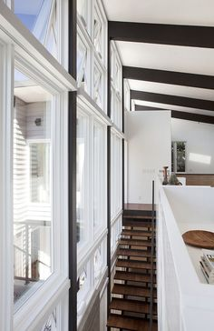 Wonderful Net Energy House Klopf Architecture Design Interior With Wooden Staircase In Minimalist Space For Home Inspiration