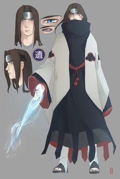 commission by Tanuki-M on DeviantArt Naruto Oc Characters, Fantasy Characters, Naruto Comic, Anime Naruto, Anime Oc, Manga Anime, Akatsuki, Anime Ninja, Naruto Drawings