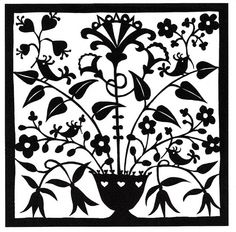 Flowers and birds folk art papercutting. © Suzy Taylor | Flickr - Photo Sharing!