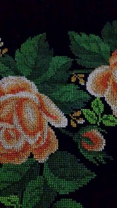 Geri Dönüşüm Projeleri Embroidery Stitches, Diy And Crafts, Projects To Try, Rose, Painting, Bath Linens, Cross Stitch Embroidery, Towels, Spring