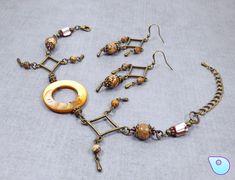 Steampunk Bracelet, Pagan Jewelry, Wiccan Jewelry, Boho Jewelry, Victorian…