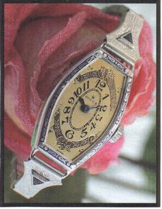Rolex Women's 1929 Ultradeco Platinum Sapphire Watch | eBay