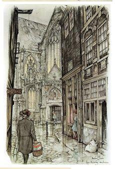 Anton Pieck. Dutch Illustrator