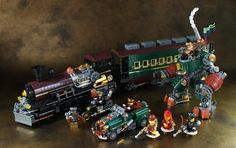 https://flic.kr/p/HbyCRJ   Steampunk Train   More pictures are on the blog. blog.livedoor.jp/legolego05/archives/52808190.html