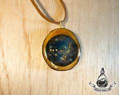 constellation necklace (Capricorn), Star Necklace, Zodiac Jewelry, Space…