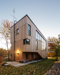 Perfect surroundings matched to exterior texture