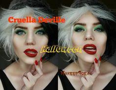 Cruella Deville Halloween Tutorial                                                                                                                                                                                 More