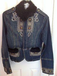 Embellished Denim Jacket | eBay