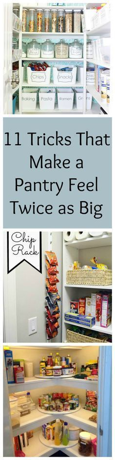 11 Organization Tricks That Make a Pantry Feel Twice as Big