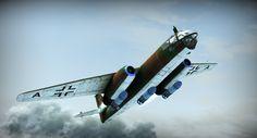 Arado Ar 234 Blitz,1st operational jet-bomber.As the Messerschmitt 262 was the…