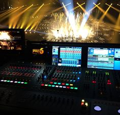 Midas Consoles Help Set Eurovision World Record - Pro Sound Web