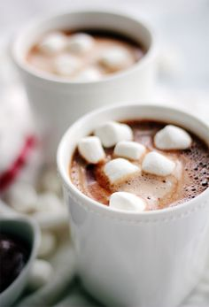 Nutella Hot Chocolate | Channeling Contessa