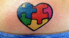 Autism tattoo design ideas 15