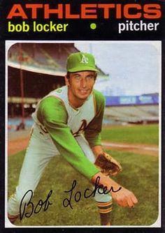 356 - Bob Locker - Oakland Athletics