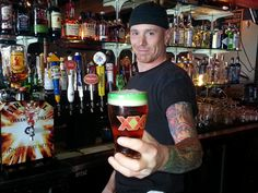 Are you really gonna turn down a beer from Joe?? This #WestSeattle Wednesday, we're giving away FREE Dos Equis beer glasses with purchase of Dos Equis pints! #Seattle #Alki #HumpDay